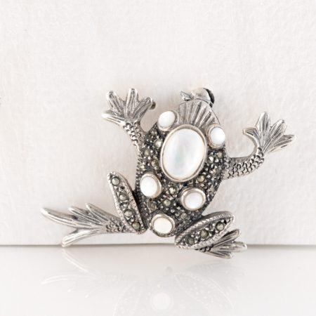 Brosa argint broscuta argint sidef