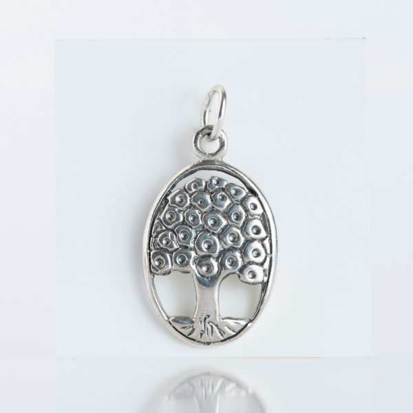 Pandantiv argint copacul vietii mediu