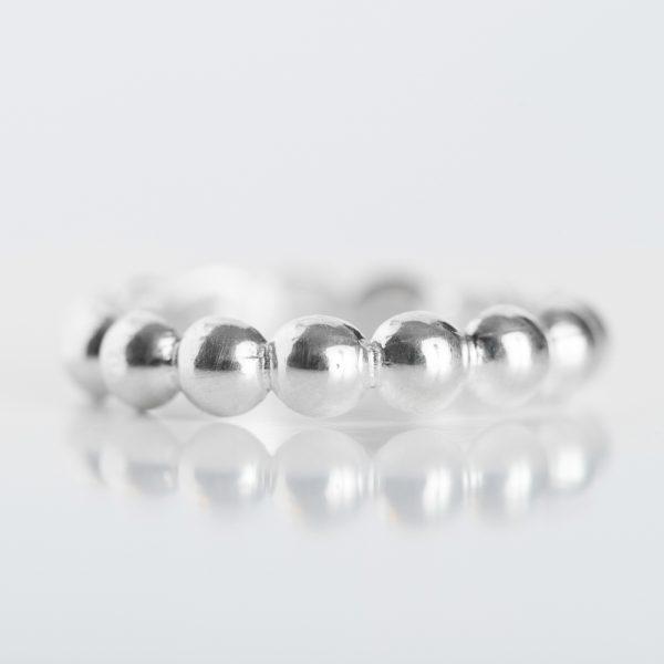 Inel argint bobite