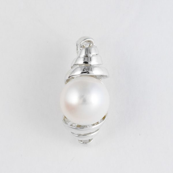 Pandantiv argint perla