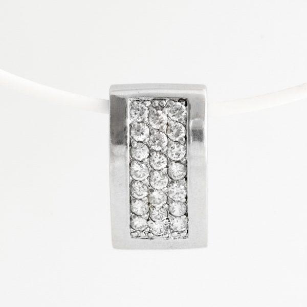 Pandantiv argint zirconii cubice