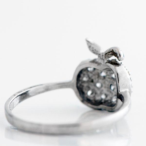 Inel argint mar zirconii cubice