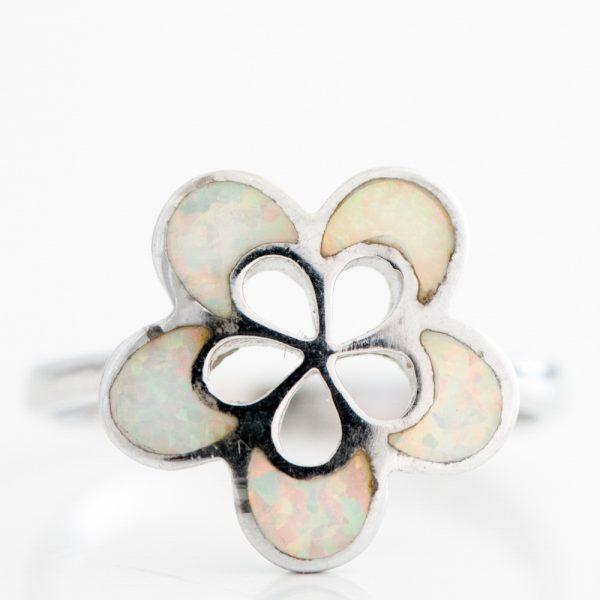 Inel argint opal imperial