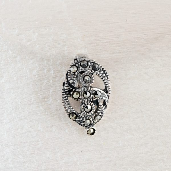 Pandantiv argint marcasite