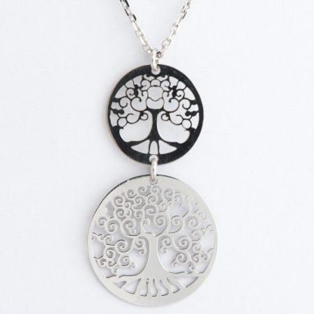 Colier argint arborele vietii