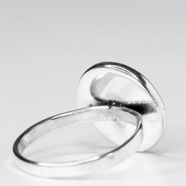 Inel argint spirala citrin