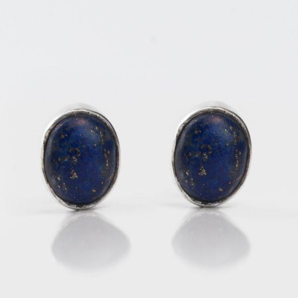 Cercei argint lapis lazuli